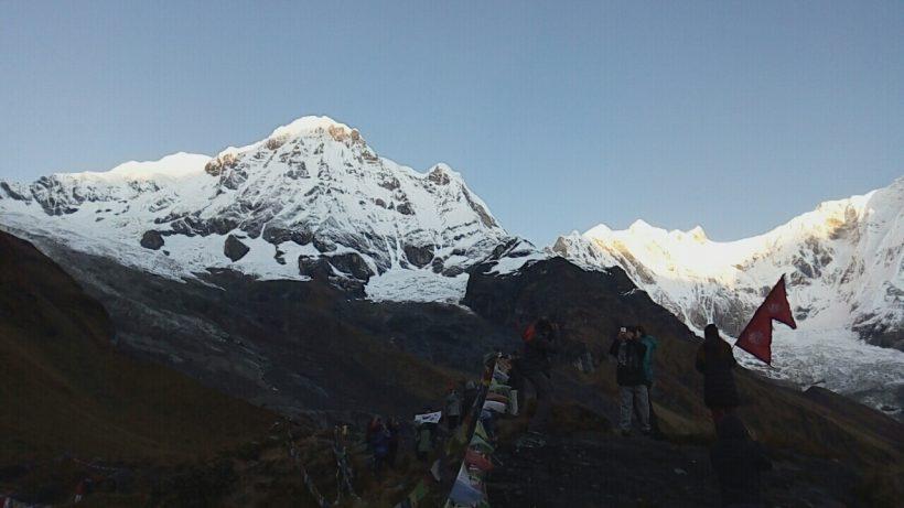 Annapurna-1-8091m, 4130m-4