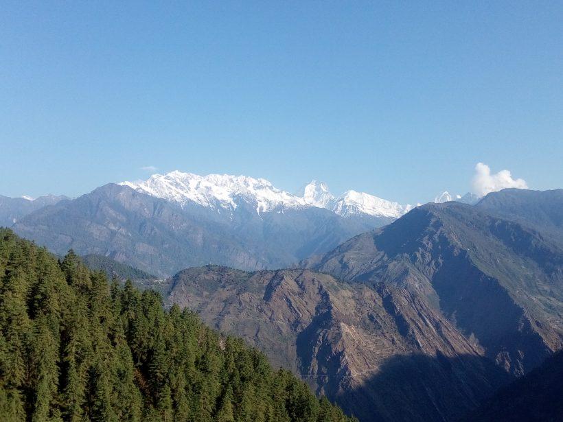 Langtang Range from Gosainkunda-1